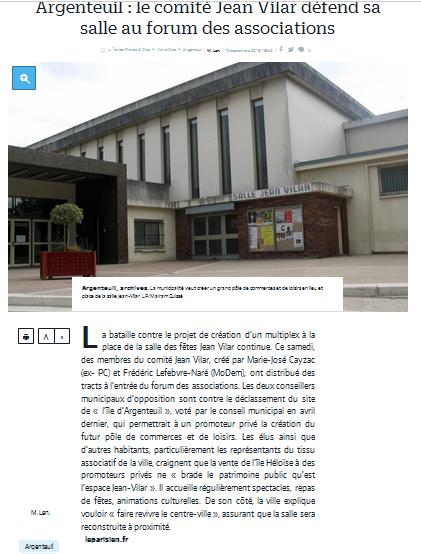 capture-article-le-parisien-12092016-comite-jean-vilar-au-forum-des-associaitons