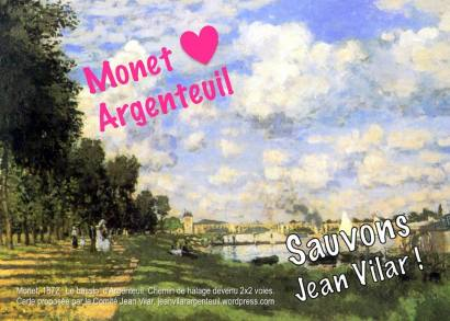 carte postale sept 2017 6 Monet