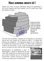 tract de rentrée forum des associations 2018 Comite Jean Vilar page 1