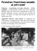 tract de rentrée forum des associations 2018 Comite Jean Vilar page 3
