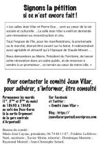 tract de rentrée forum des associations 2018 Comite Jean Vilar page 4